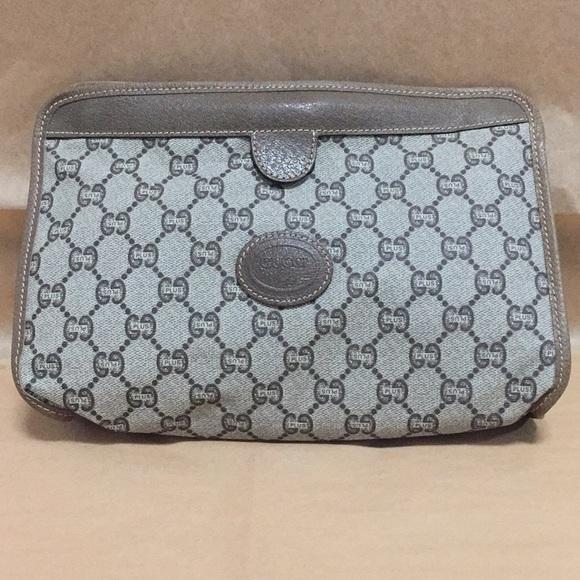Gucci Handbags - New GUCCI PLUS VINTAGE monogram hand bag mini